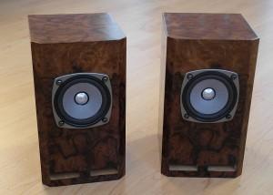 Finished uFonken speakers