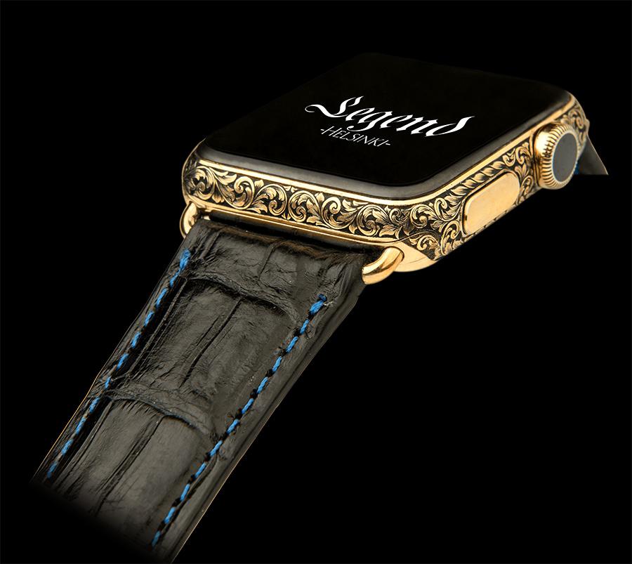 Engraved Apple Watch – Viljo Marrandi art and engraving